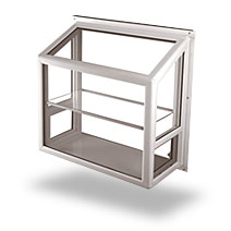 Garden Windows Are Like A Miniature Greenhouse Growing From The Side Of  Your Home. They Are A Box Like Structure, Often With An Angled Top Panel,  ...